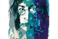 Armin Mueller-Stahl, Tribute to John Lennon, blau-grün