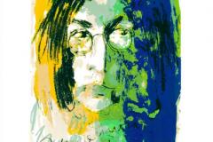 Armin Mueller-Stahl, Tribute to John Lennon, gelb-blau