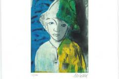 Armin Mueller-Stahl, Junge mit Hut