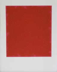 Bernd Berner, Flächenraum rot