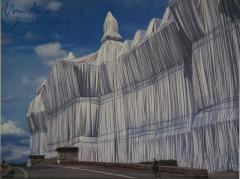 Christo & Jeanne-Claude, Reichstag Voderseite