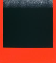Rupprecht Geiger, Schwarz auf Rot
