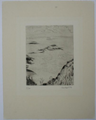 Erich Heckel, Berge im Nebel