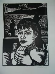Erich Heckel, Junge Frau