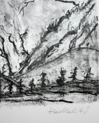 Erich Heckel, Verschneite Berge