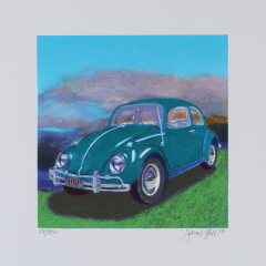 James Francis Gill, Mini Bug,Turquoise VW