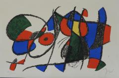 Joan Miró, Composition/Lithografie-2