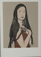 Julian Opie, Anya with veil