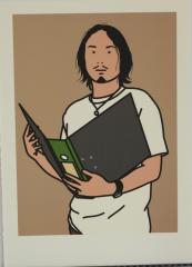 Julian Opie, Hirofumi with file