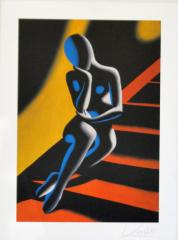 Mark Kostab, stairway orange