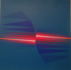 Lothar Quinte, Fächer blau