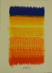 Heinz Mack, Chromatik in Rot-Gelb-Blau
