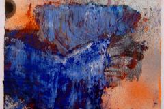 Maria Moser, o.T. (blau)