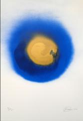 Otto Piene,Blaue Kokarde (Kokarde am Himmel)