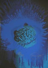 Otto Piene, Blue Sun