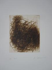 Arnulf Rainer, Gebüsch im Herbst