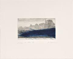 Arnulf Rainer, Veüe et perspective du Palais et Jardin Thuilleries