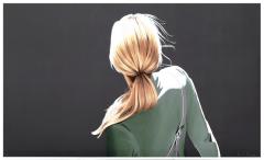 Sabine Liebchen, Mädchen mit grüner  Jacke