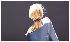 Sabine Liebchen, Mädchen mit blauer Jacke
