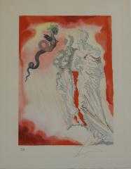 Salvador Dalí, der schwarze  Teufel