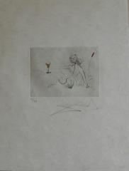 Salvador Dalí,  Petifes nus ronsard