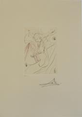 Salvador Dalí,  die geteilte Sünde