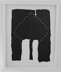 Lucio Fontana, teatrino nero